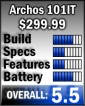 Archos 101 rating