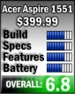 Aspire 1551 rating